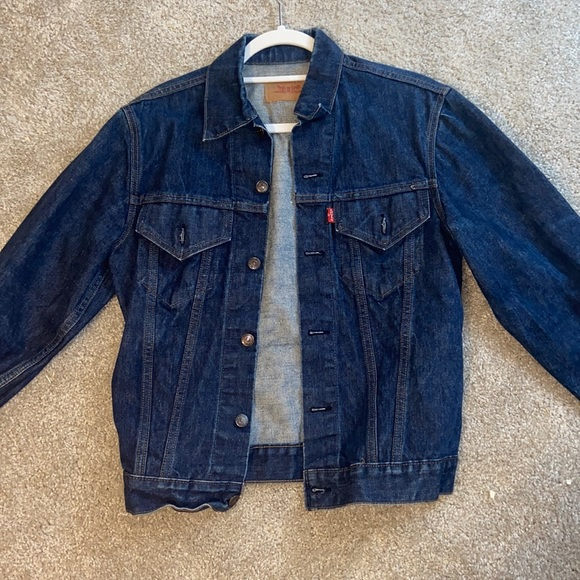 Brand new Levi's dark denim jacket